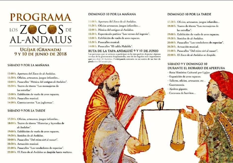 Programa Zocos de Al-Ándalus en Ugíjar - La Alpujarra