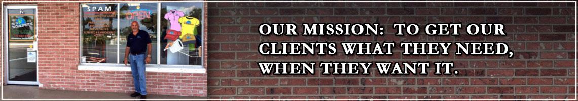Mission Statement Slider