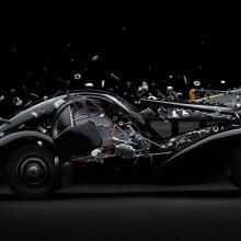 Les impressionnantes voitures de course éclatées de Fabian Oefner