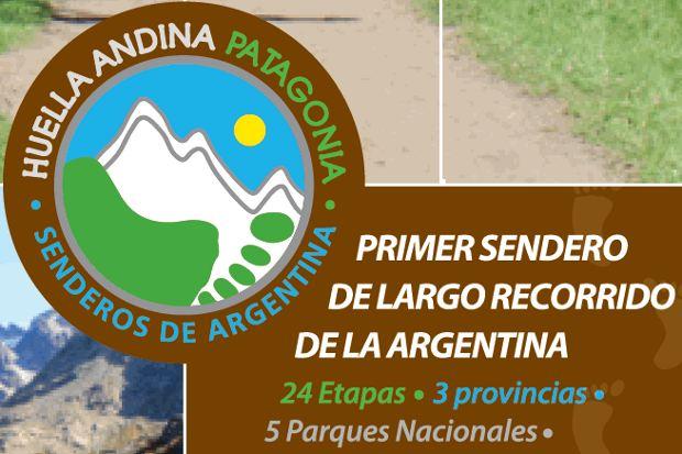 Huella Andina sendero atravesar Patagonia forma sostenible