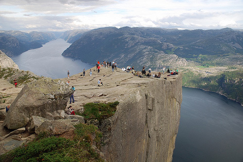 Tres maravillas naturales Noruega