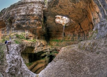 La catarata de tres niveles del Líbano 1