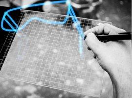 Una tableta para dibujar en tres dimensiones