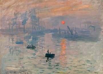 ¿Cuándo pintó Claude Monet su cuadro 'Impresión, sol naciente'?
