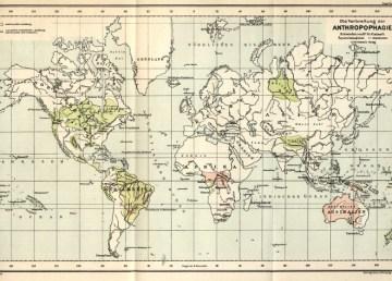 Un mapamundi del canibalismo