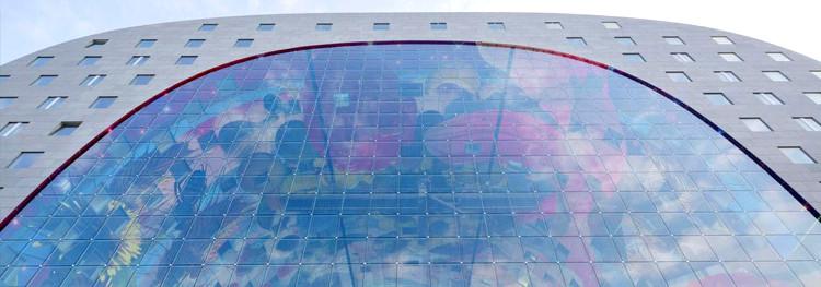Markthal mercado icono futurista Roterdam