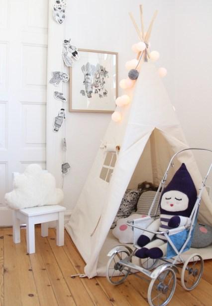 La Chaise Bleue pour les petits: tepees and tents for kids