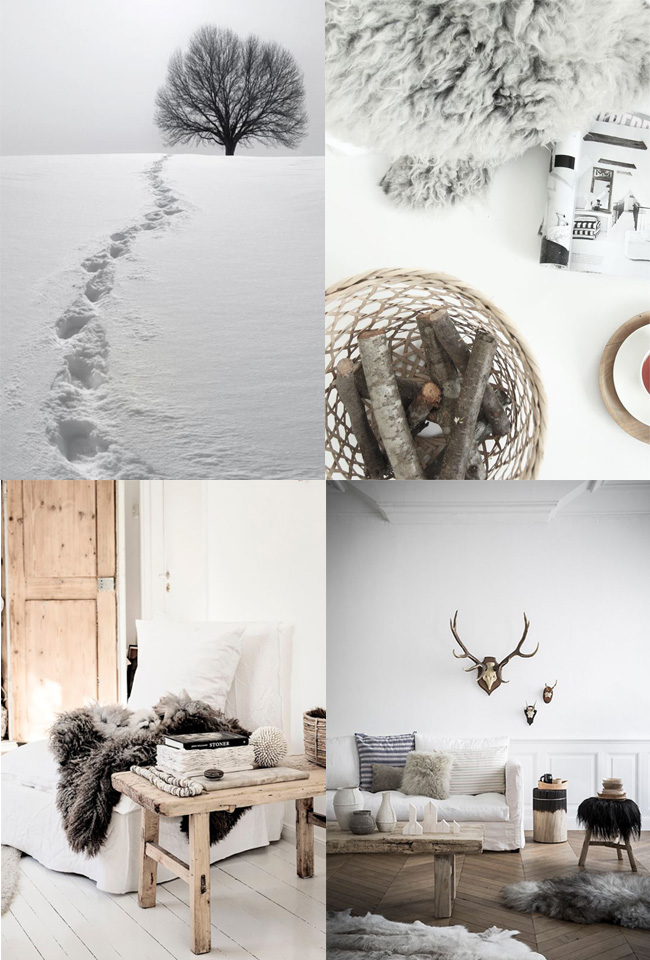 Mood board | Welcome Winter | La Chaise Bleue (lachaisebleue.com)