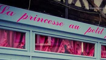 écriteau la princesse au petit pois