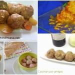 Cinco formas de preparar albóndigas de carne