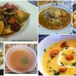 Seis platos de cuchara
