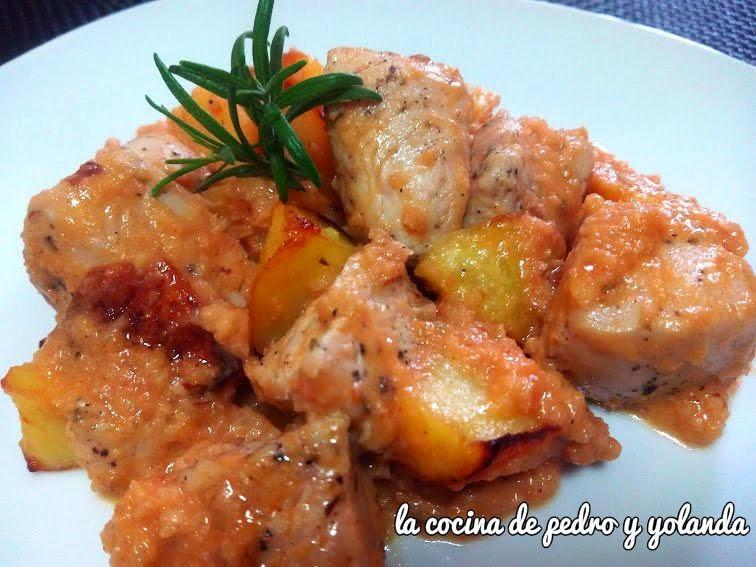 Solomillo de pavo con salsa de almendras la cocina de for Cocina de pedro y yolanda