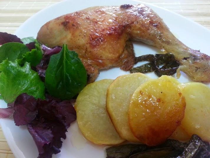 Cuartos traseros y contramuslos de pollo asados al limón - La Cocina ...