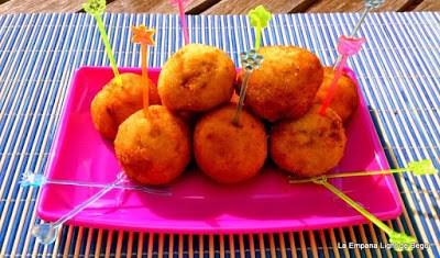 croquetas de jamon serrano y mozarella