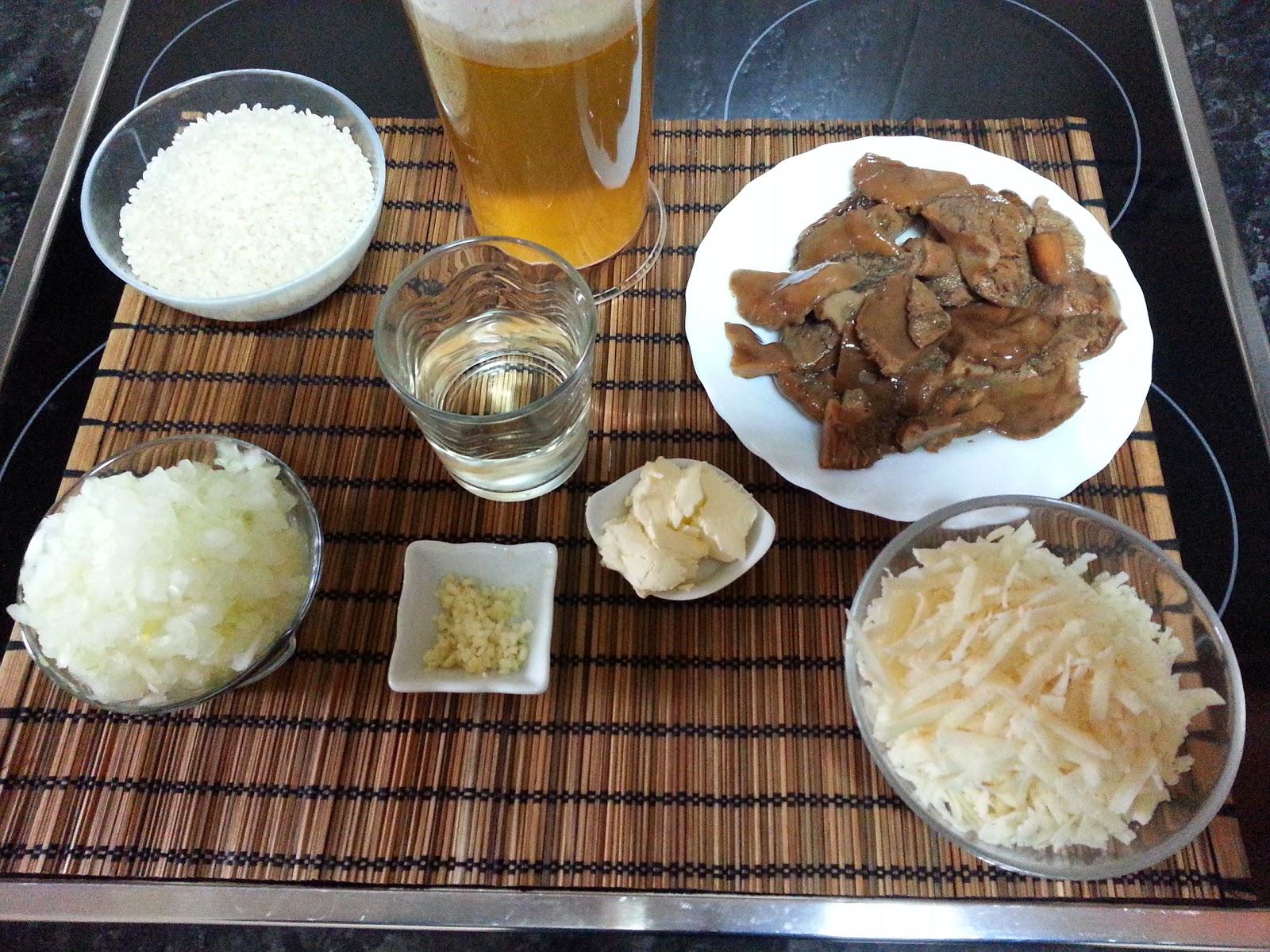 Risoto b sico con setas cocina facil la cocina de pedro for La cocina de pedro y yolanda