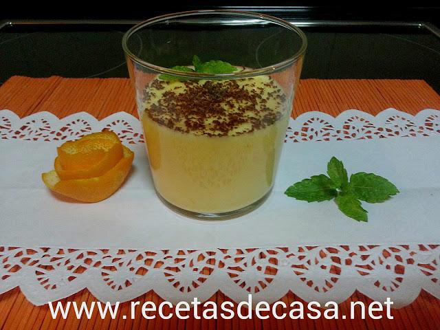 receta de mousse de naranja en microondas cocina facil