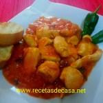 Pollo con salsa picante cocina facil