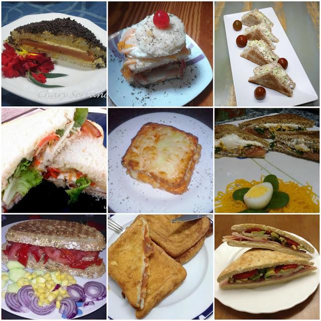 nueve rellenos para sandwich evento fiesta del sandwich