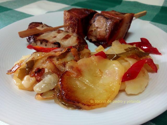 Patatas a lo pobre cocina f cil la cocina de pedro y yolanda for Cocina de pedro y yolanda