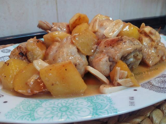 Pollo al ajillo cocina facil la cocina de pedro y yolanda for Cocina de pedro y yolanda