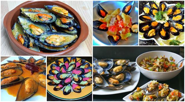 Seis recetas de mejillones la cocina de pedro y yolanda for Cocina de pedro y yolanda