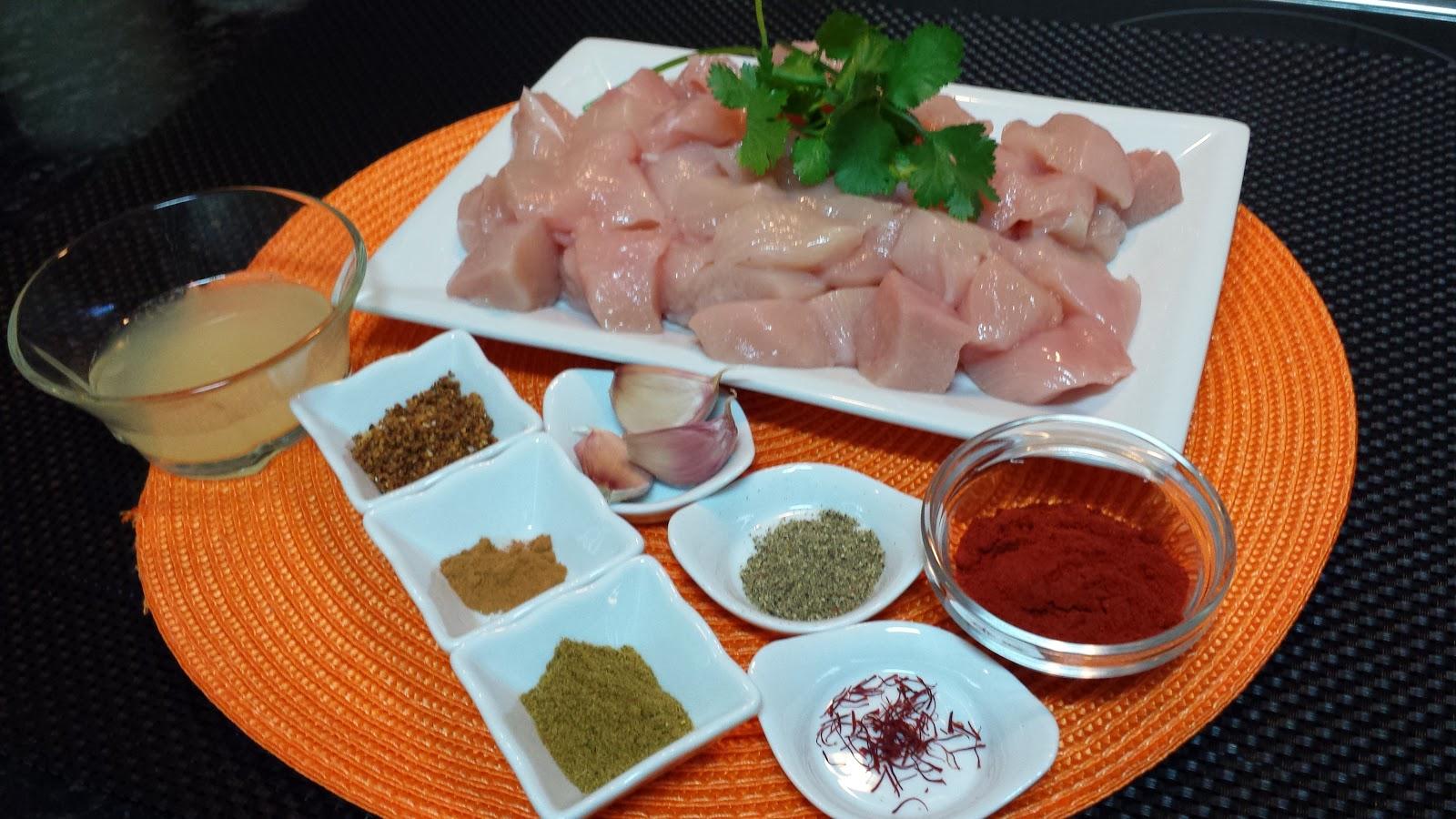 Pinchos morunos de pollo la cocina de pedro y yolanda for La cocina de pedro y yolanda