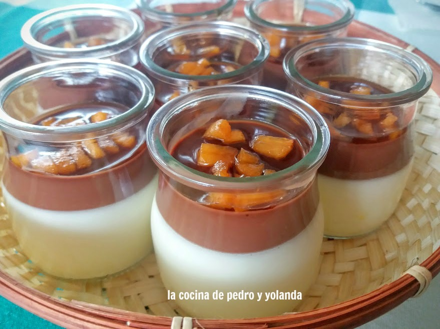 Pannacota con chocolate la cocina de pedro y yolanda for Cocina de pedro y yolanda
