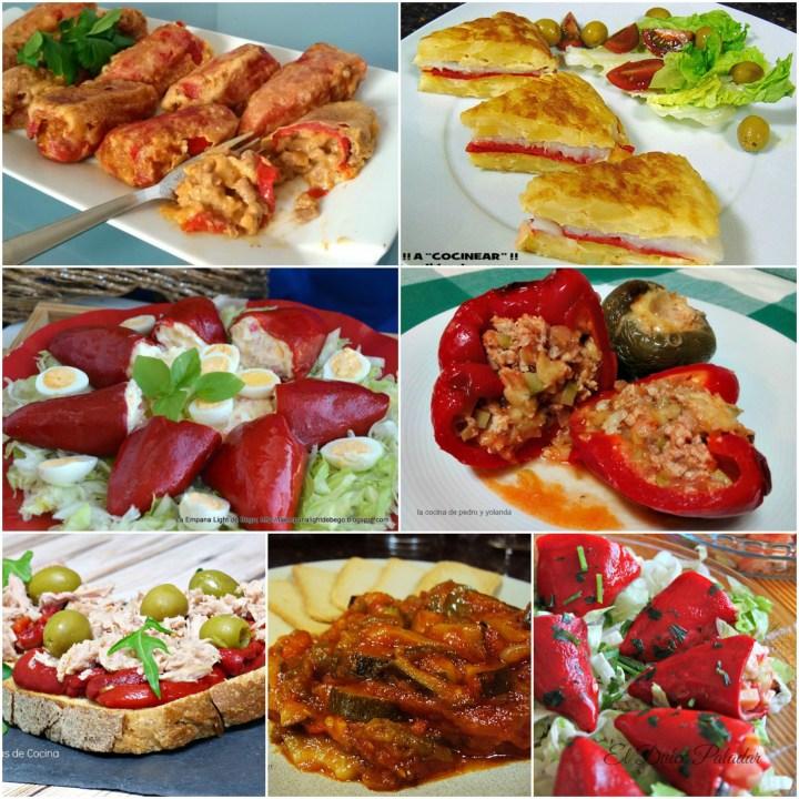 recetas de pimientos
