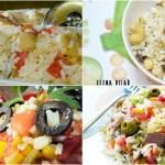 4 ensaladas de arroz