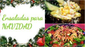 ensaladas para navidad