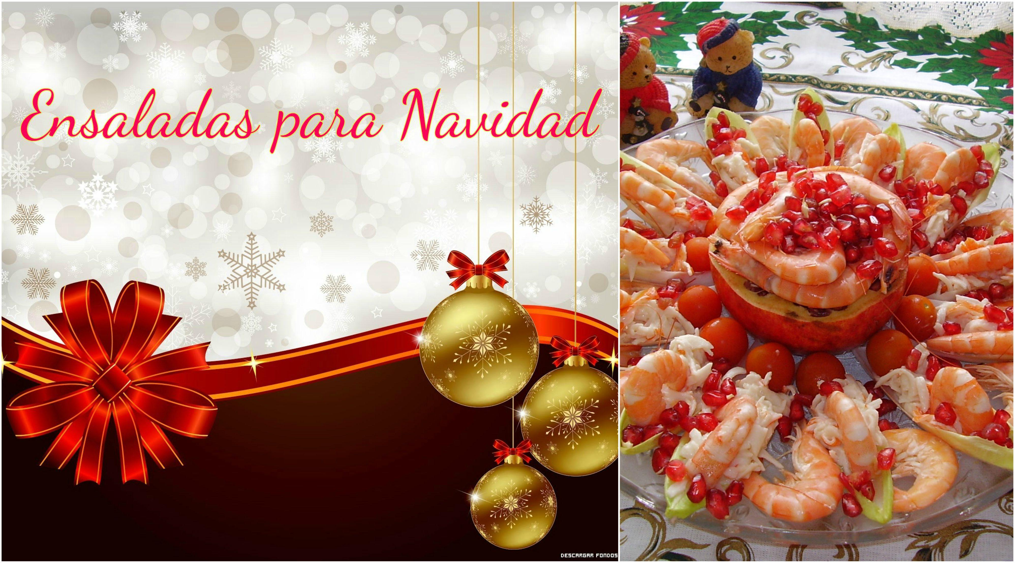ensaladas para navidad la cocina de pedro y yolanda