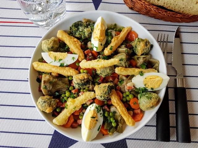menestra de verduras invernal