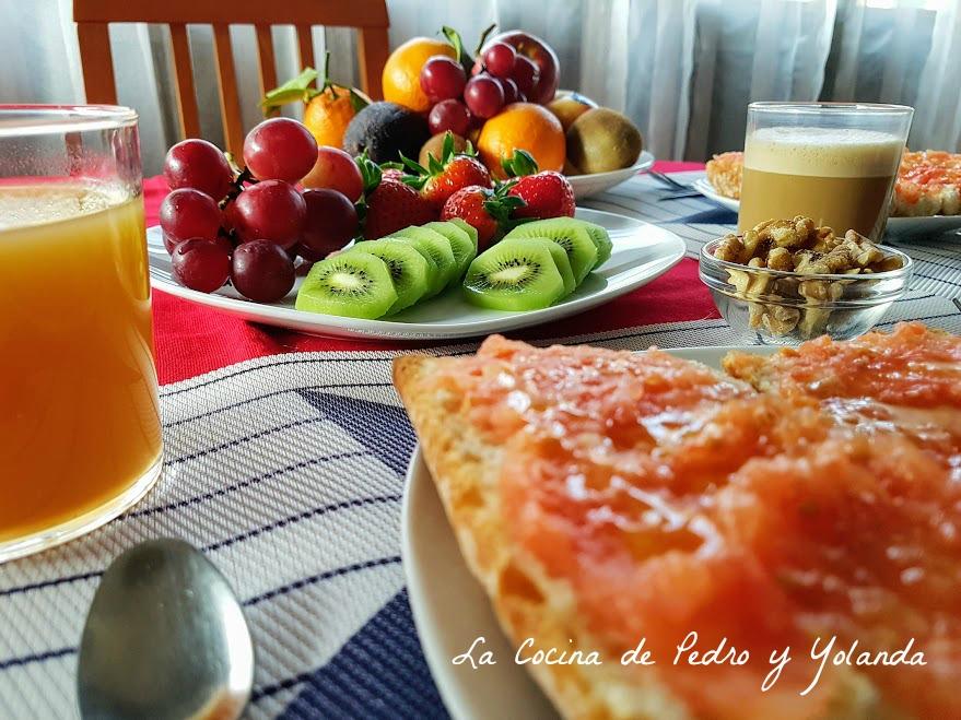 que debe incluir un desayuno saludable la cocina de