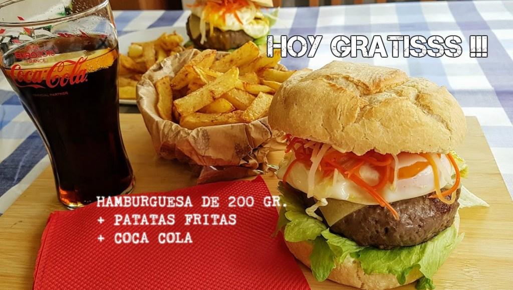 maxi hamburguesa de la huerta