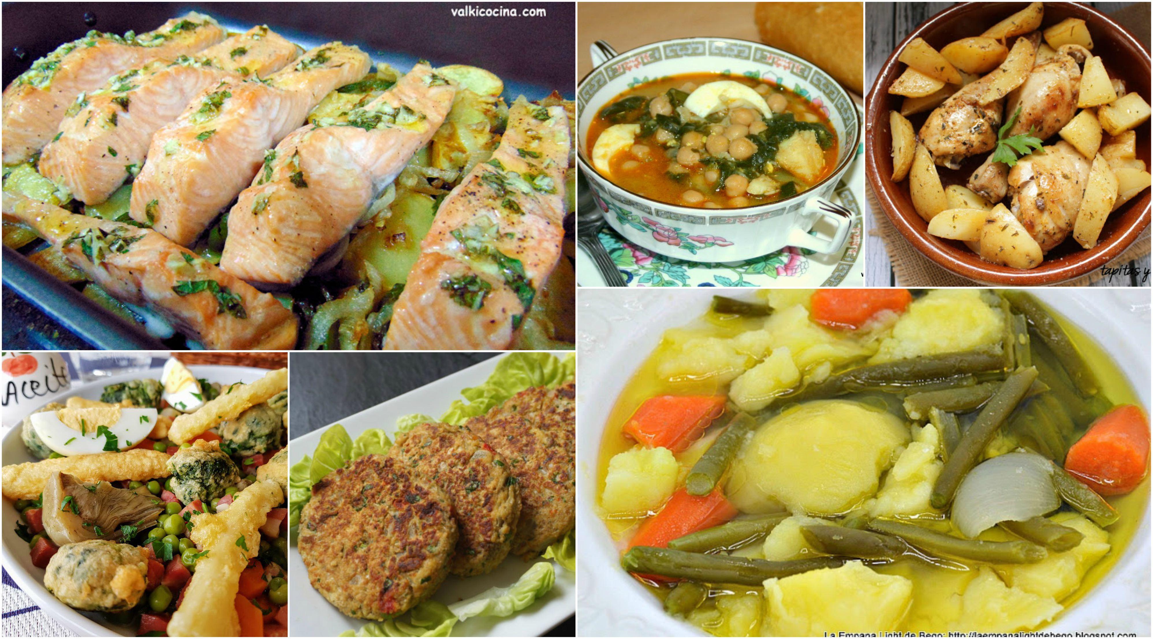 Men semanal 46 men saludable la cocina de pedro y yolanda for Menus saludables y economicos