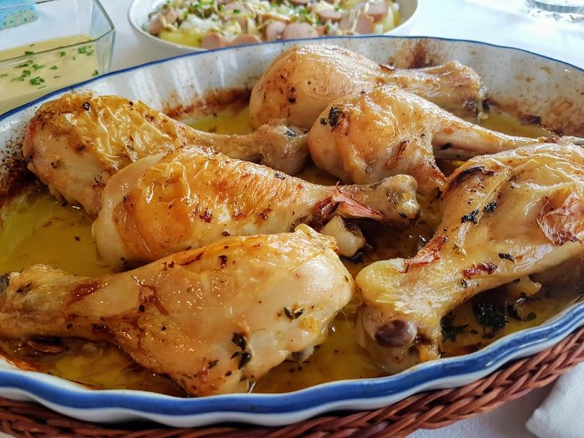 Muslitos de pollo asados la cocina de pedro y yolanda - Muslitos de pollo ...