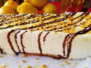 tarta fría de limón sin horno