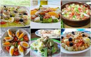 ensaladas frescas y saludables