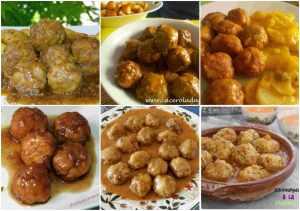 recetas de albóndigas
