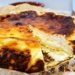 Tarta de queso La Viña de San Sebastián súper cremosa
