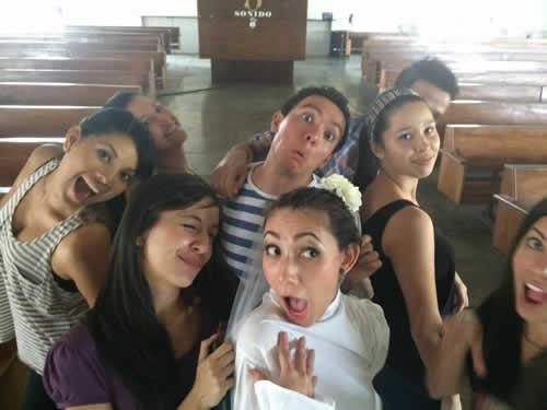 Redes Sociales - Selfie en una boda-1