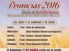 Primicias 2016 – 11 al 17 de Enero
