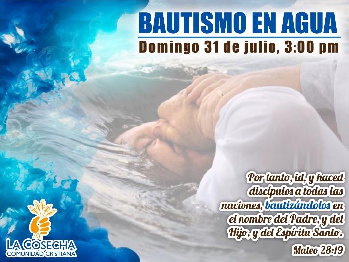 ANUNCIO BAUTISMO EN AGUA 2016-Julio