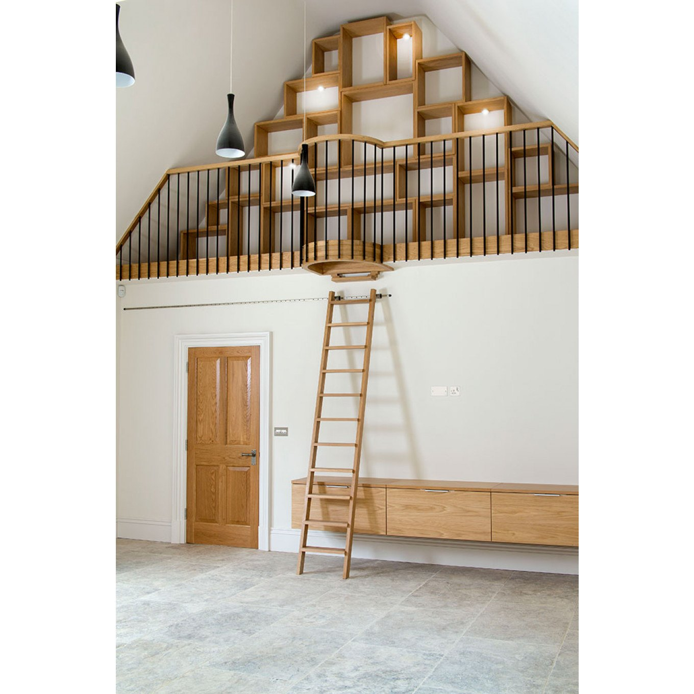 Indulging Vaulted Area Kitchen From Rolling Ladder Invaulted Area Sale Rolling Library Ladder Hardware Kit Rolling Ladder Kitchen From Peter Rolling Library Ladders Rolling Ladders Rolling Library Lad houzz 01 Rolling Library Ladder