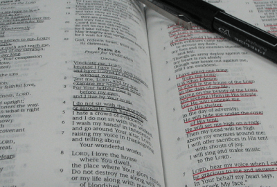 the word of God, Bible