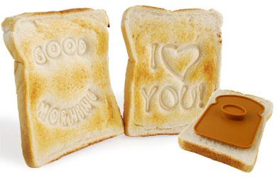I Love You Toast