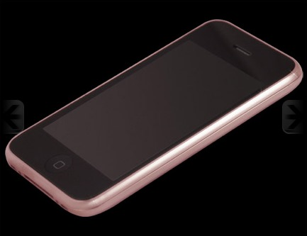 Goldstriker Announces the 18ct Solid Rose Gold iPhone 3GS Diamond and the Gucci Pink Diamond Belt (4)