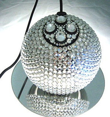 Deco Mouse Full of Swarovski Crystals