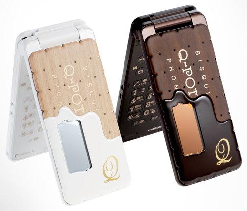 NTT Docomo SH 04C Biscuit Phone by Q Pot