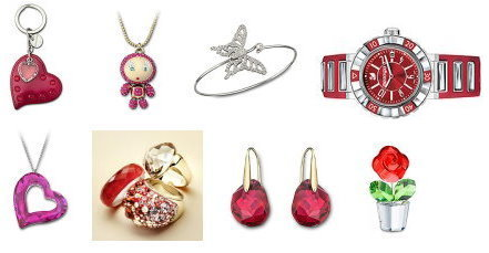 Valentines Day Ideas for Her swarovski jewelery